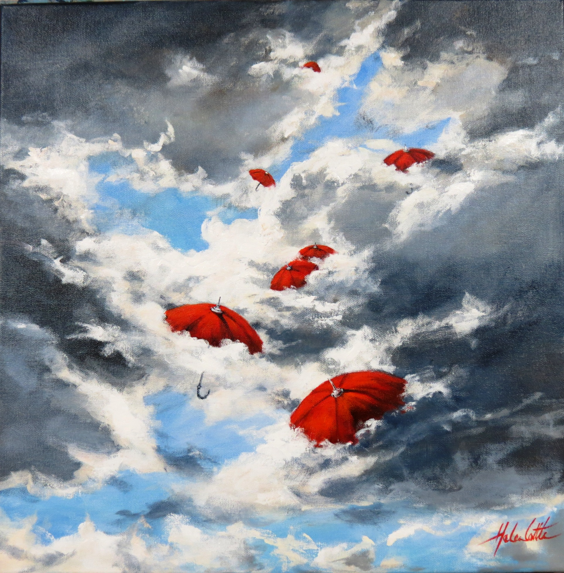 Carried Away Acrylic By Helen Cottle.JPG
