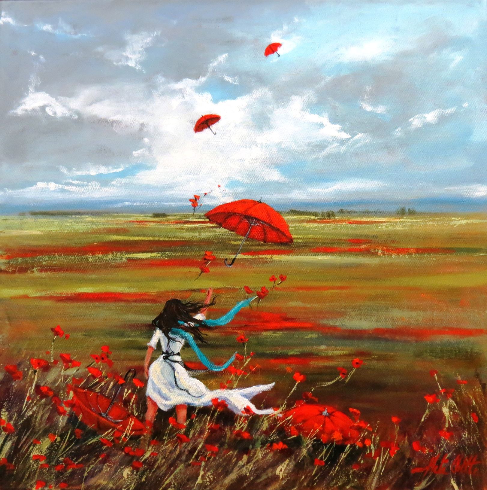 SURRENDER TO THE WIND , ACRYLIC 60X60CM BY HELEN COTTLE LR.jpg