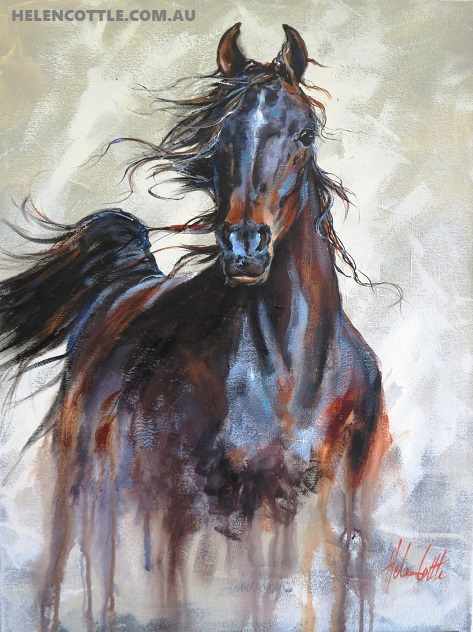 EQUINE MOVEMENT 78X64CM ACRYLIC BY HELEN COTTLE COPY.jpg