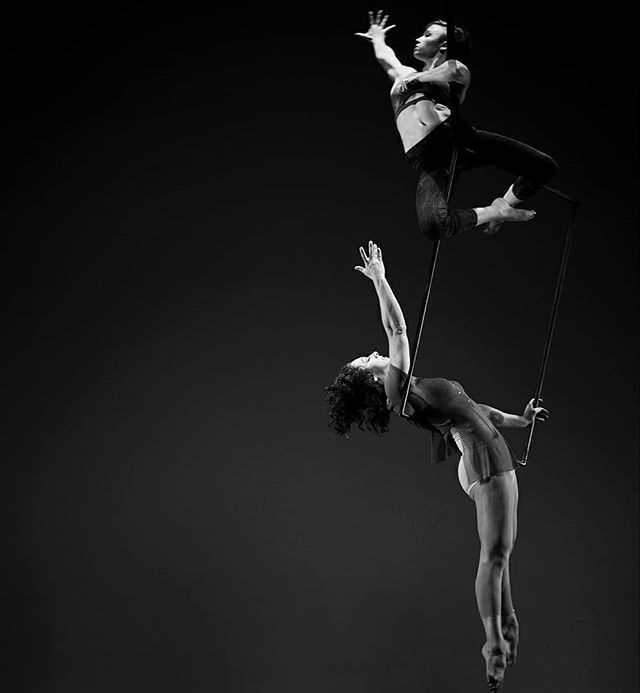 #tbt - Spinnin' with Gwynne in DC for Sweet Spot Aerial Productions in 2017. Excited to be back in my hometown next week! Looking forward to catching up with friends and family there throughout July before heading back abroad. See you soon, Washington! . . . #circus #circuseverydamnday #circusaroundtheworld #aerialistsofig #aerialinspiration #cirqueduinsta #igfitness #dc 📷 @ifikope . . . #circuschallenge - Day 1