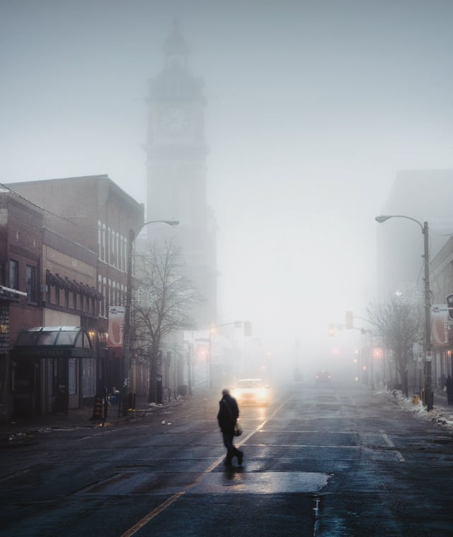 Luckily the end of this weather spell is near. One silver lining is that it has been great for photos. Who is looking forward to nothing but sunshine? . . . #ptbo #ptbocanada #ontario #canada #canadaworld #thekawarthas #fog #tourcanada #artofvisuals #sunrise #creative #lookslikefilm #local #photographer #filmmaker #torontophoto #imagesofcanada #contentcreator #marketing #commercial #landscape #architecture #storyteller #morning