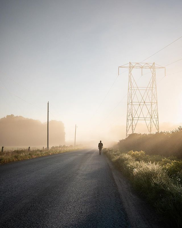 Another beautiful morning in #MillbrookON is it just me or have there been a lot of foggy mornings lately.