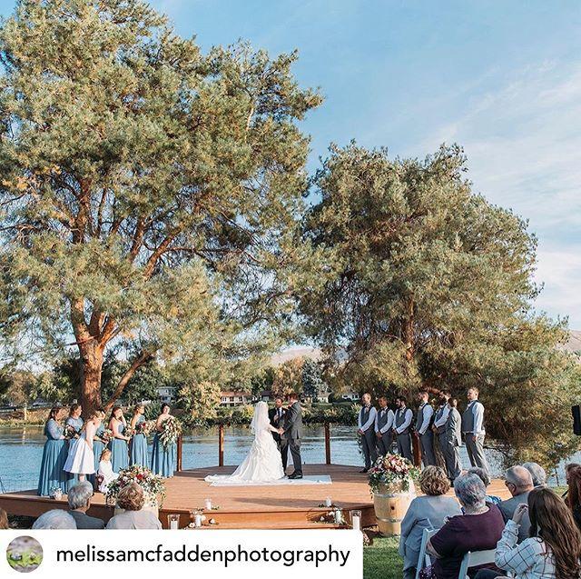 Congratulations to Melissa and Adam on their wedding - our last of 2019! We are so grateful to all of our newlyweds and their amazing vendors for a wonderful year. Cheers! 🥂 • • • #prosserriverranch #prosserwa #yakimariver #tricitieswa #tricitieswedding #yakimawedding #yakimavalley #weddingvenue #riverfrontwedding #summerwedding #destinationwedding #pnwedding #nwweddings #naturewedding #bride #brideandgroom #washingtonbride #509bride #applebrides #wedding #weddingday #weddingdress #weddingflowers #realweddings #loveauthentic #loveintentionally #lovestory #truelove