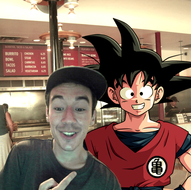 Met Goku at Chipotle. Great guy.