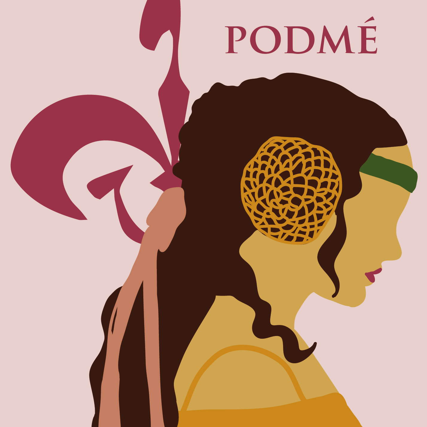 - Podmé is a monthly series podcast shining a light on the often-overlooked female heroine of the prequels, the mother of Luke and Leia, the voice of reason, and one of the smartest people in the galaxy during her time and beyond.