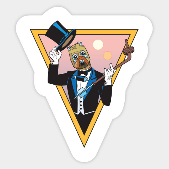 Stickers! - The one, the only, the Tuxen Raider. Now available to #upgrade the aesthetic of any device or notebook!
