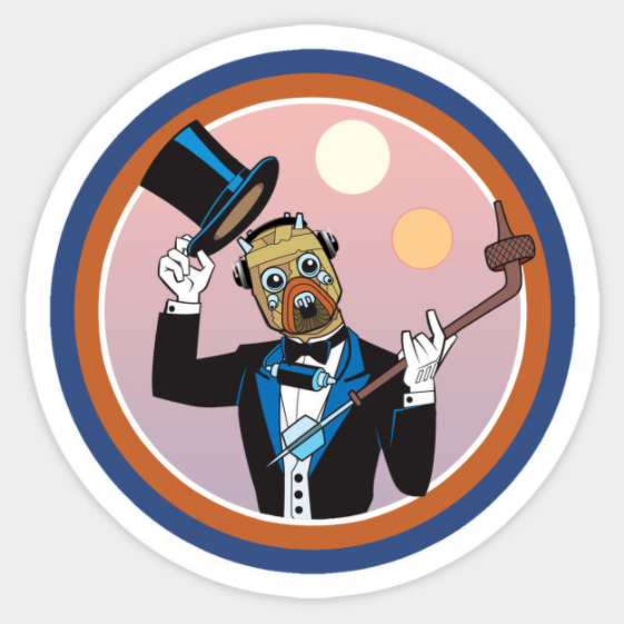 Stickers!(!) - A certain USW team members favorite, this Tuxen Raider sticker is all you need to turn your laptop from MacBoring to MacBam!