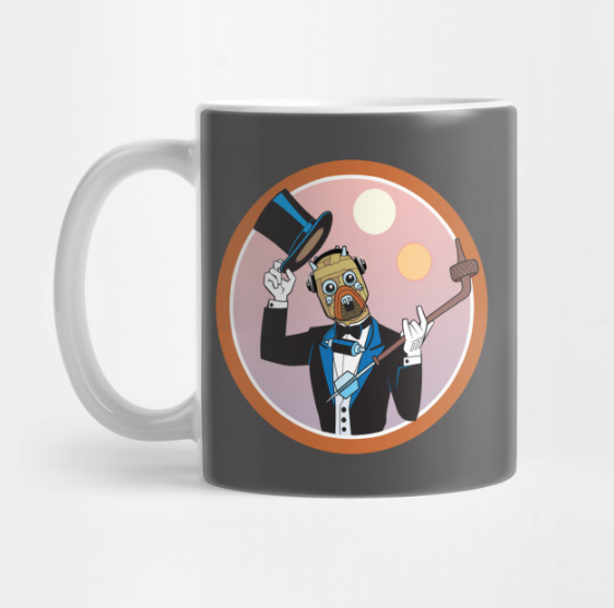 Mugs! - Who doesn't love a good mug to go with the morning listen of your favorite podcast? *wink*