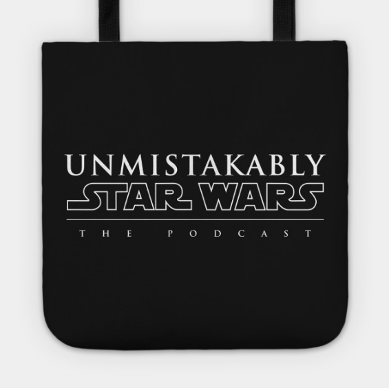 Totes! - Perfect for carrying around all your Star Wars merch at, say, a Celebration (say hi to us in 2019!). Simple, effective, Unmistakably useful.