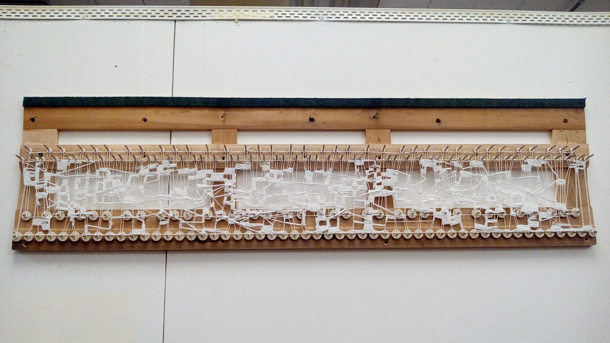 Image of Erin's weaving.