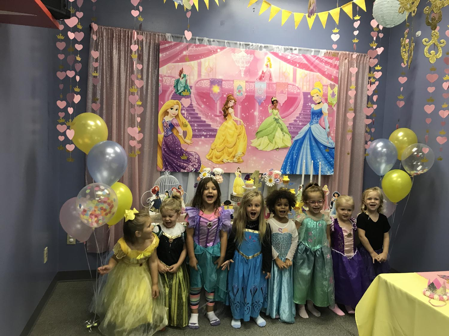 princess birthday party orlando