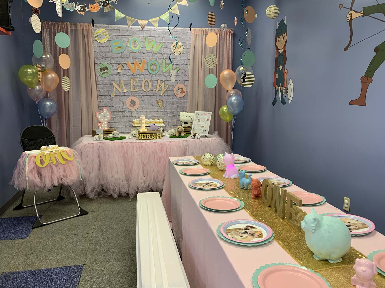 1 year old birthday party orlando