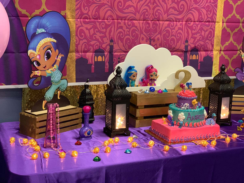 Winter Garden Toddler Birthday Party