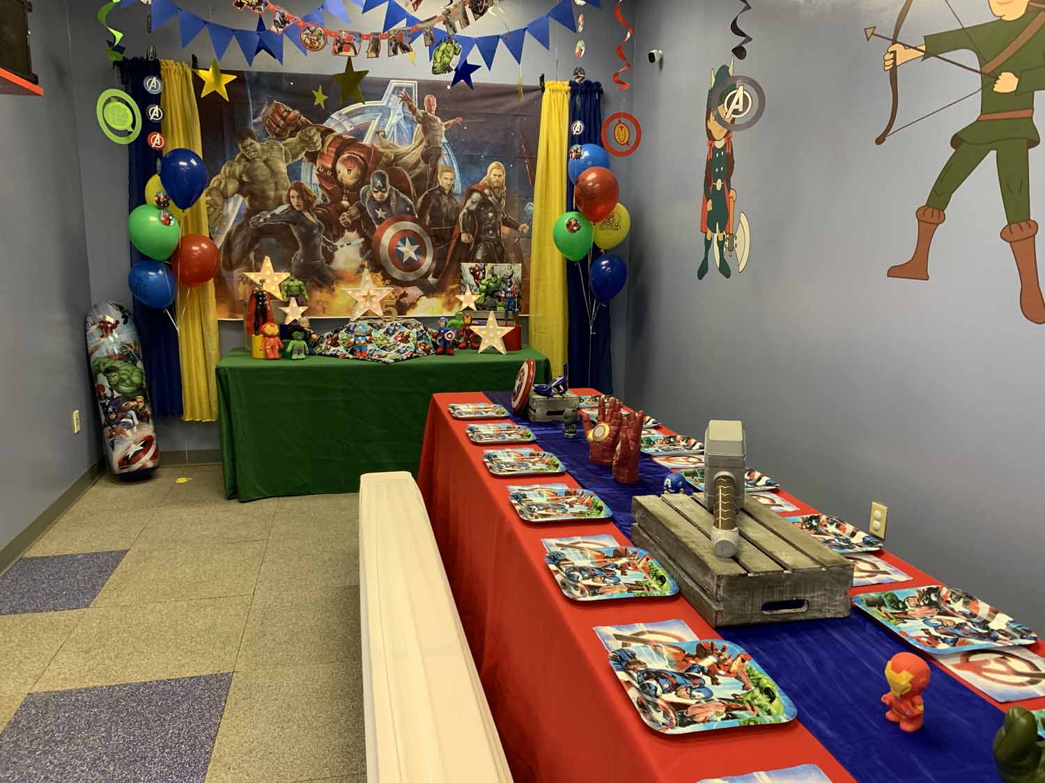 avengers toddler birthday party orlando