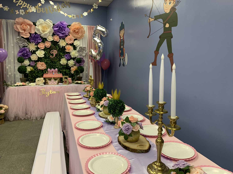 kids princess birthday party orlando fl