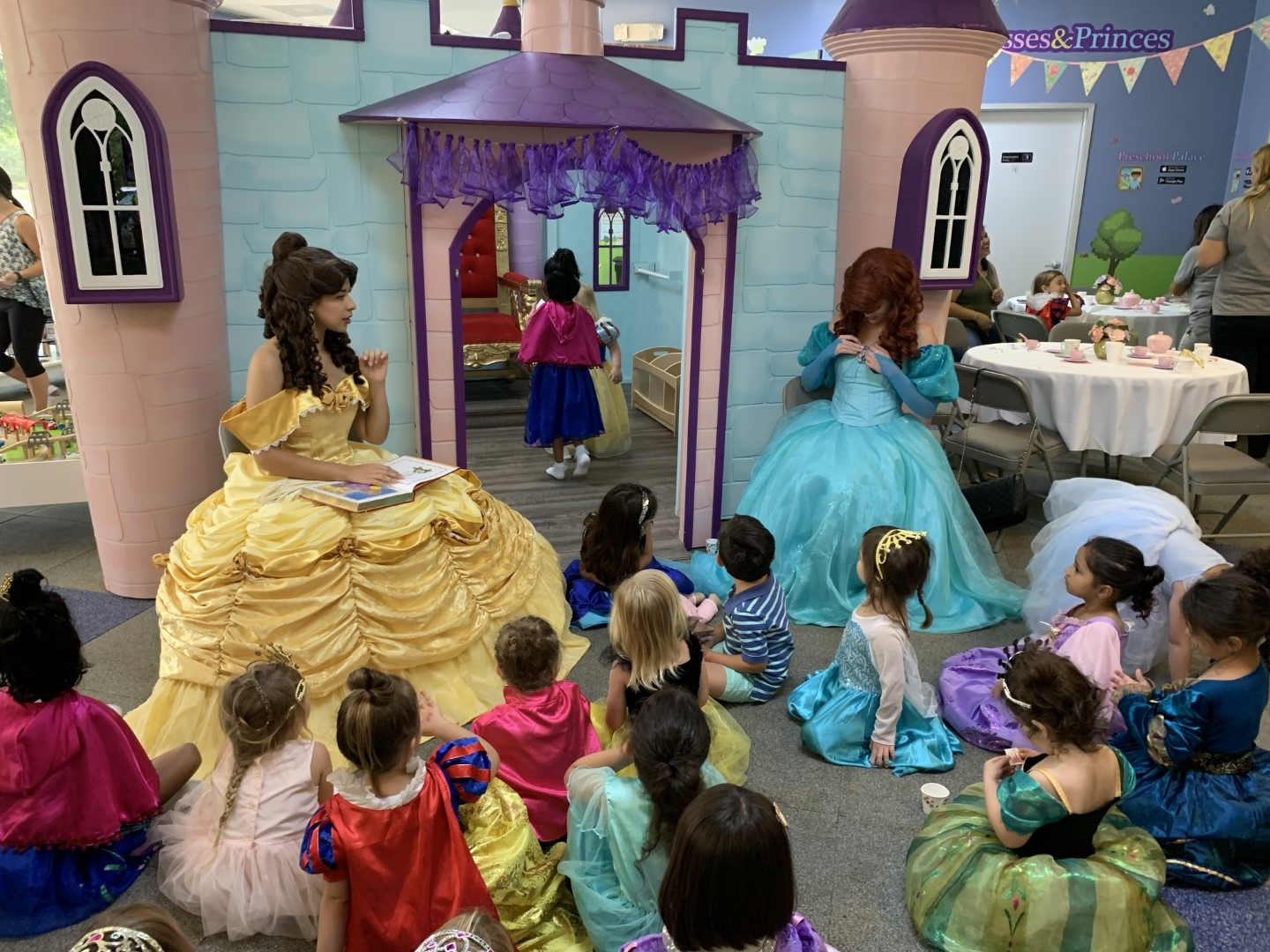 princess tea party orlando fl