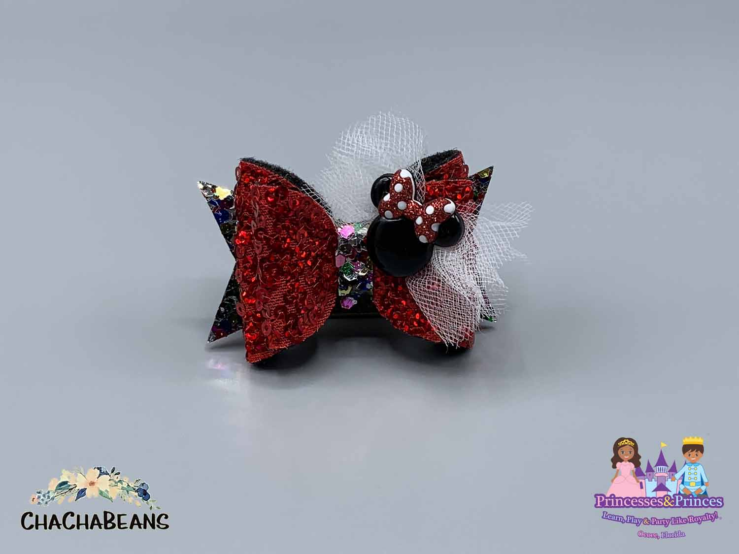 themed hair bows for birthday parties