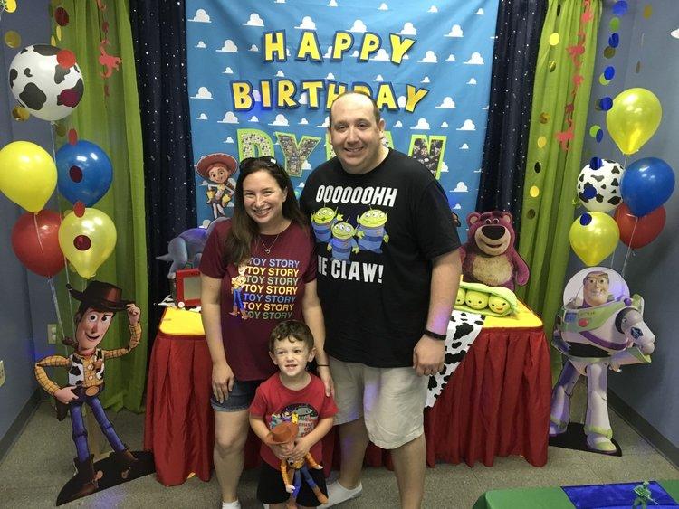 3 Year Old Birthday Party Orlando Florida