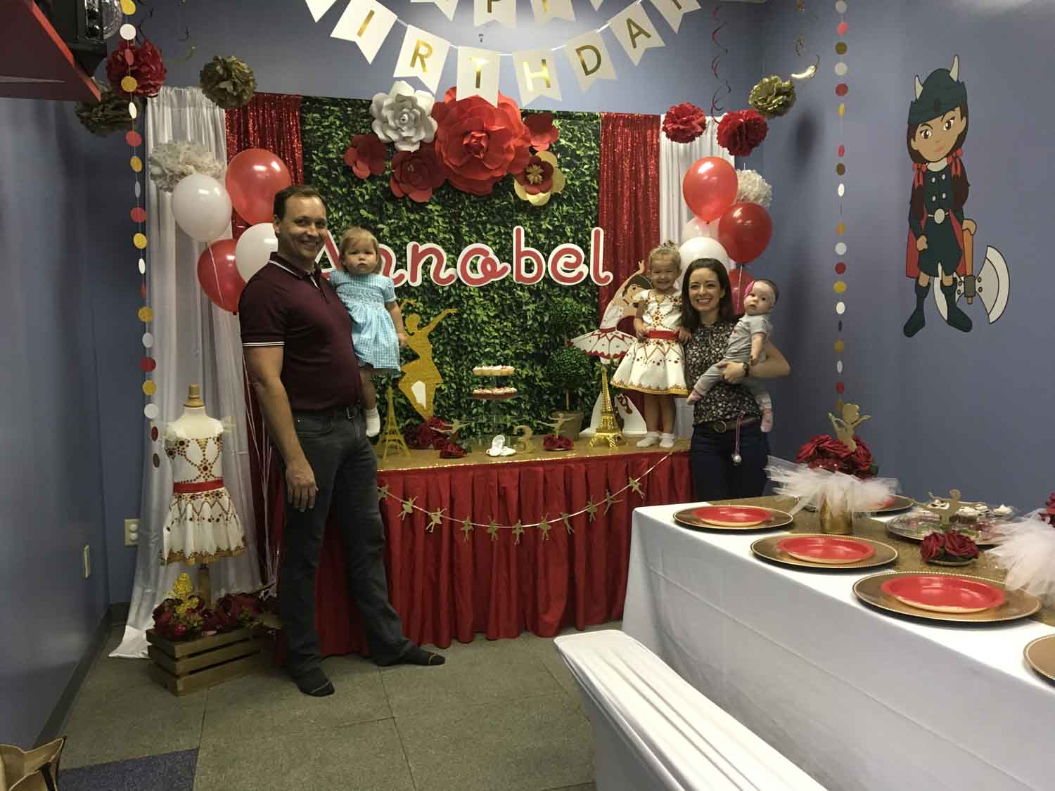 3 Year Old Girls Birthday Party Orlando Ocoee Fl