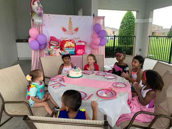 4 year old birthday party orlando fl