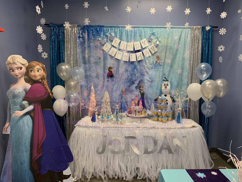 Frozen Birthday Party Decorations Princesses Princes