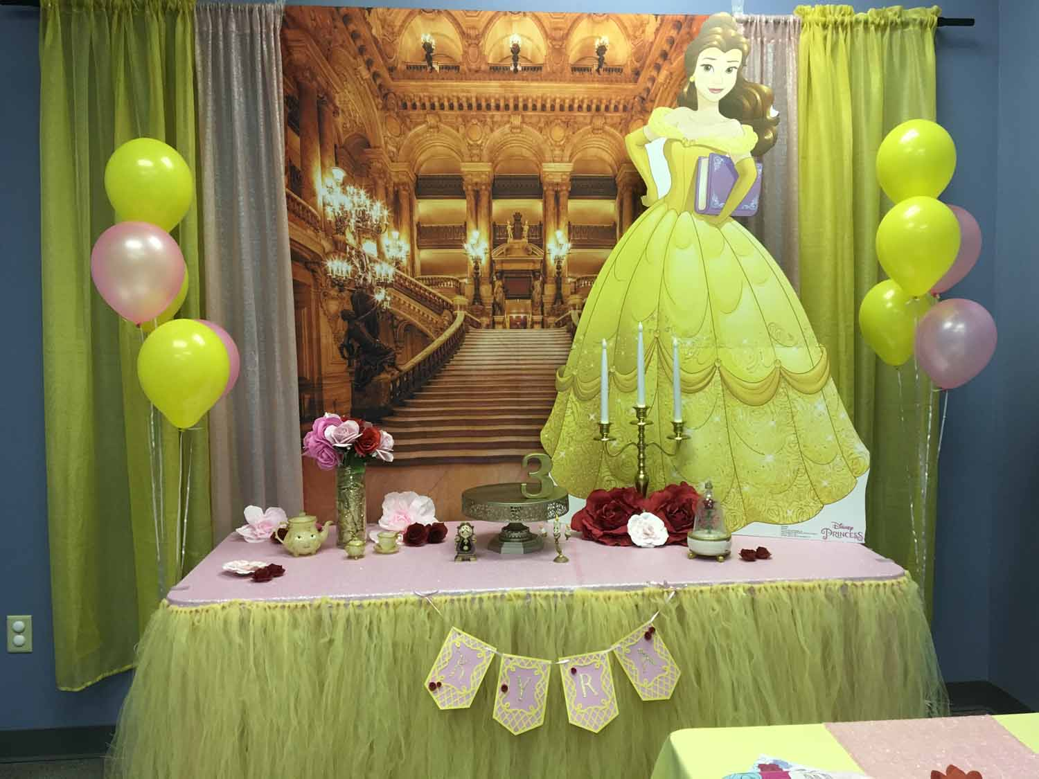 3 year old birthday party orlando fl - beauty and the beast themed birthday party