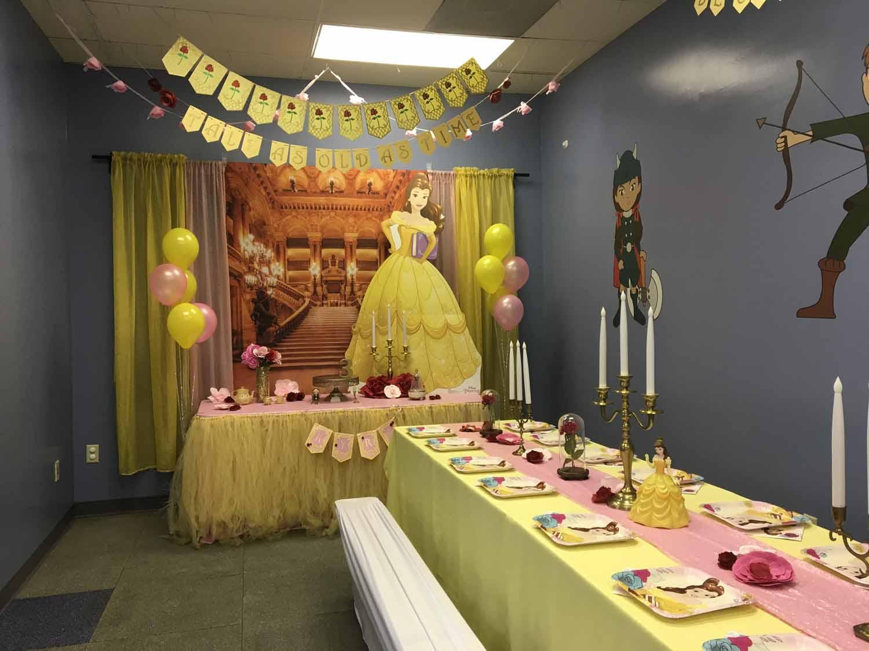 Beauty The Beast Birthday Party Theme In Orlando Fl Princesses Princes
