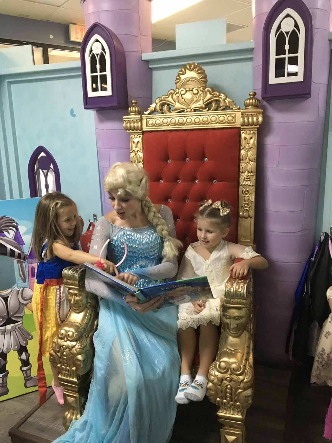 Frozen Themed Birthday Party In Orlando FL