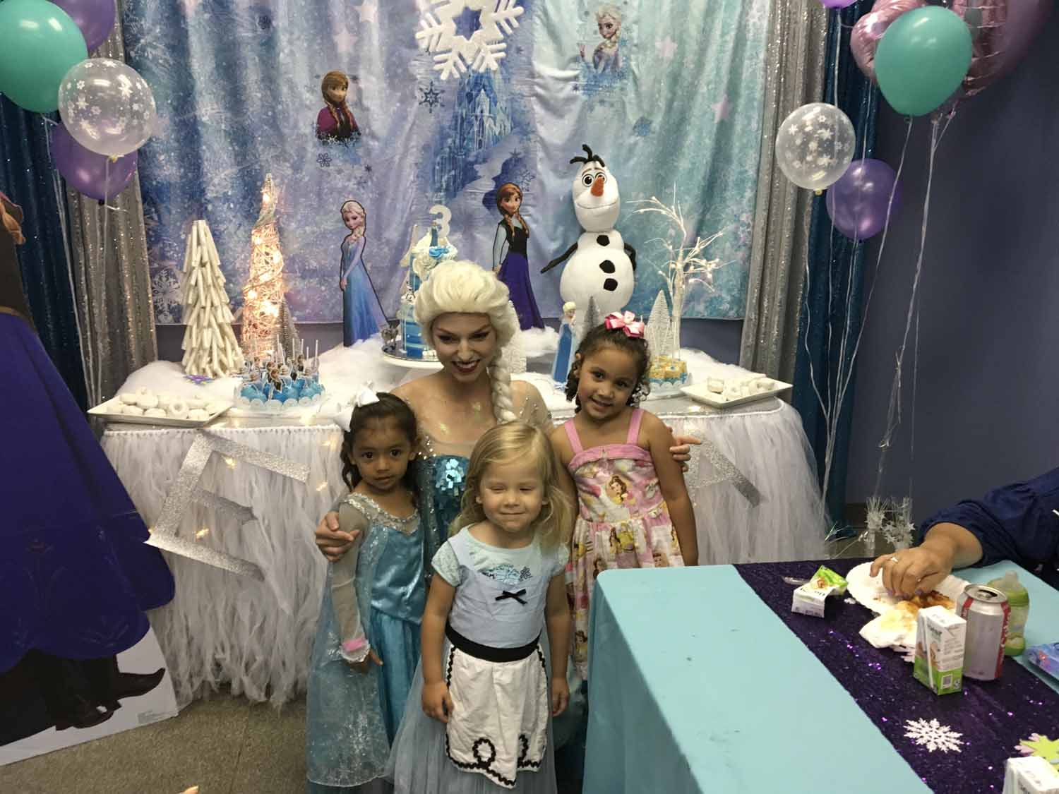 frozen themed birthday party in orlando florida - princesses and princes (11).jpg