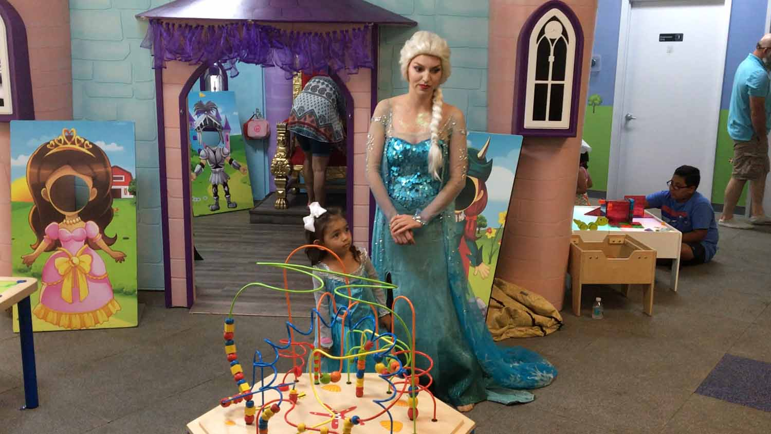 frozen themed birthday party in orlando florida - princesses and princes (12).jpg
