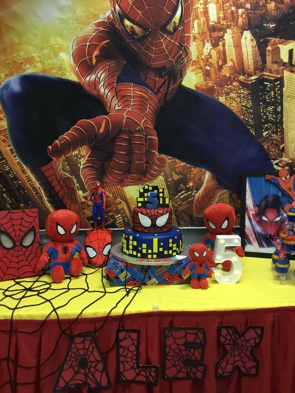 Spider Man Themed Birthday Party Celebration For 5 Year Old Boy Orlando FL