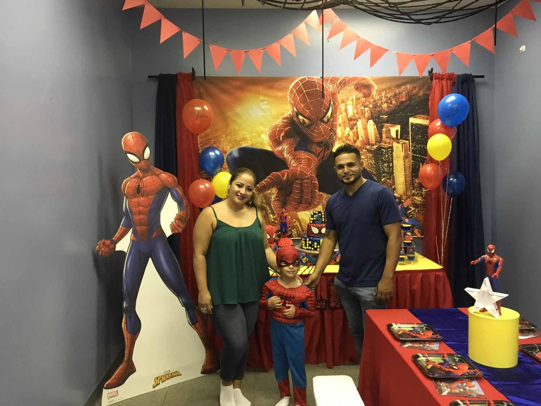spider man themed birthday party for 5 year old boy orlando florida (9).jpg