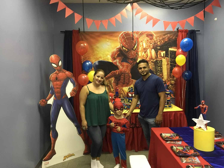 spider man themed birthday party for 5 year old boy orlando florida (10).jpg