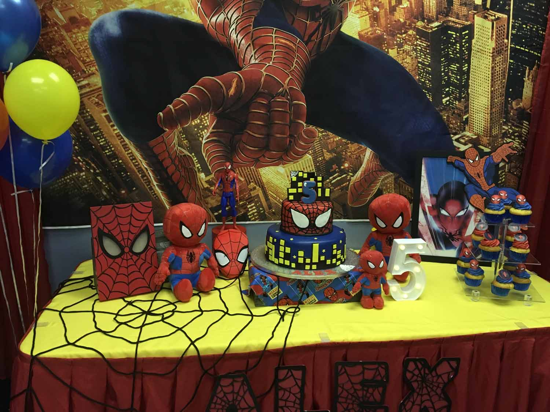 spider man themed birthday party for 5 year old boy orlando florida (11).jpg