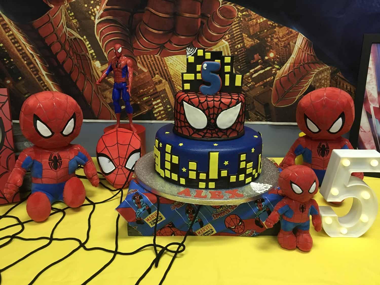 spider man themed birthday party for 5 year old boy orlando florida (12).jpg