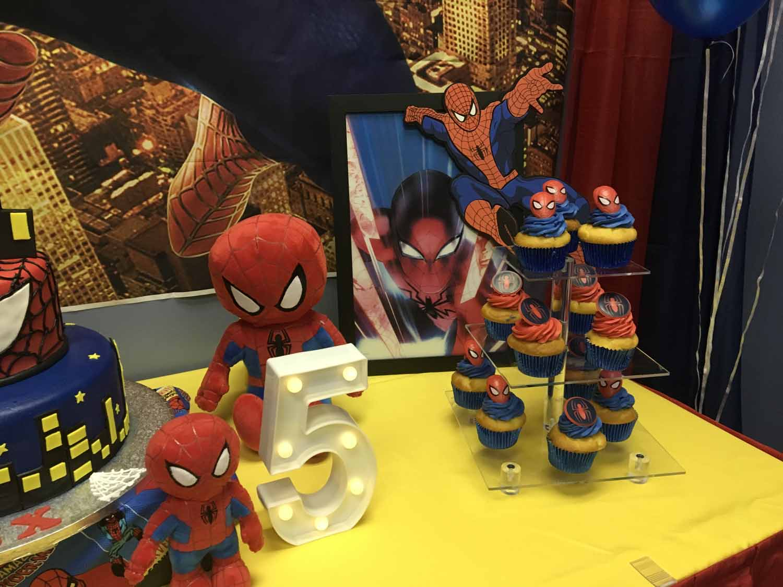 spider man themed birthday party for 5 year old boy orlando florida (13).jpg