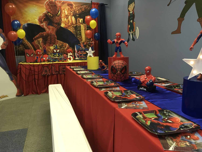 spider man themed birthday party for 5 year old boy orlando florida (16).jpg