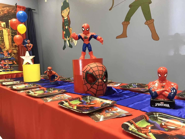 spider man themed birthday party for 5 year old boy orlando florida (17).jpg