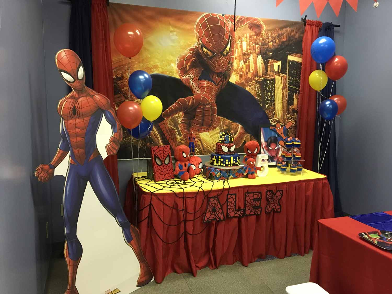 spider man themed birthday party for 5 year old boy orlando florida (18).jpg