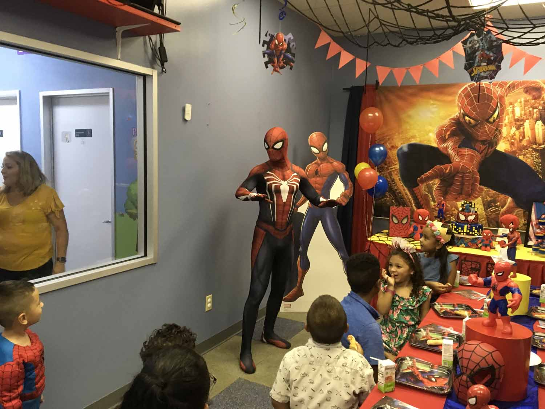spider man themed birthday party for 5 year old boy orlando florida (20).jpg