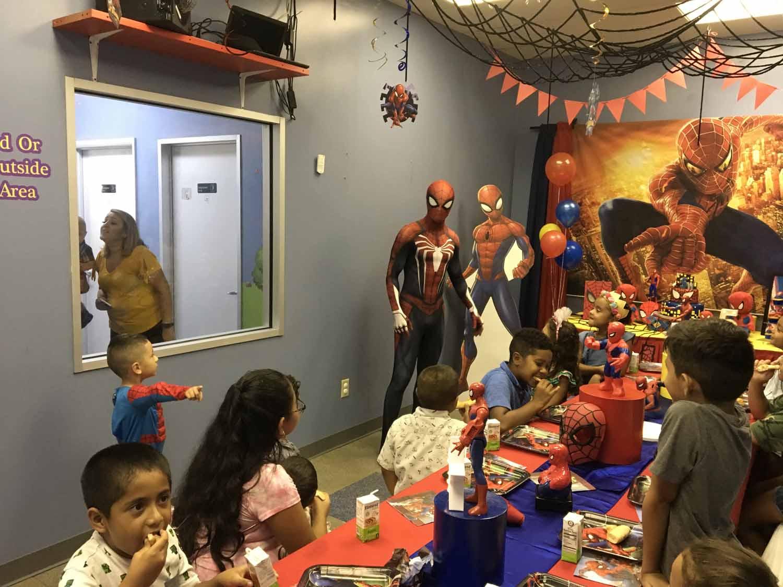 spider man themed birthday party for 5 year old boy orlando florida (21).jpg