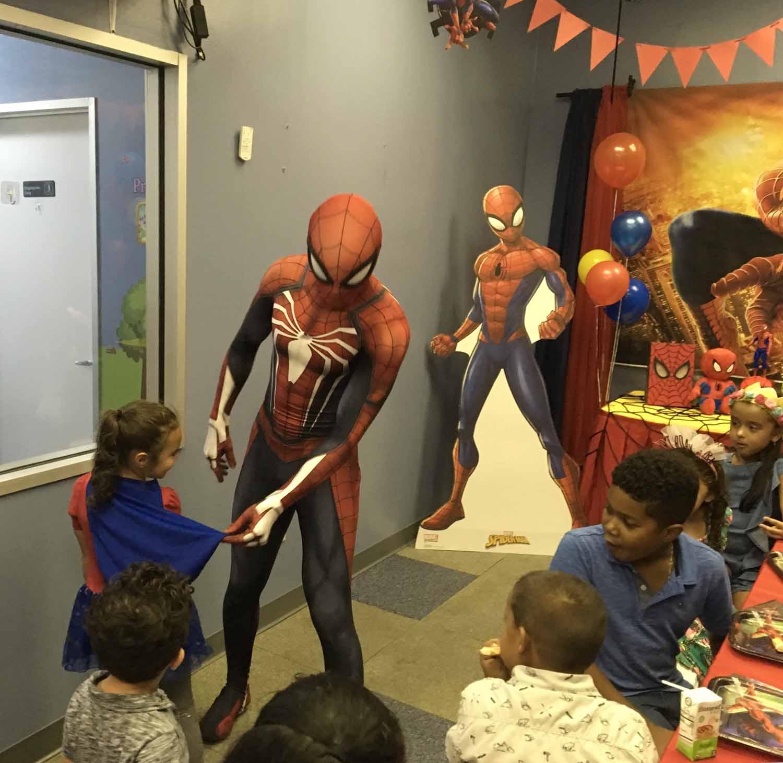 spider man themed birthday party for 5 year old boy orlando florida (22).jpg