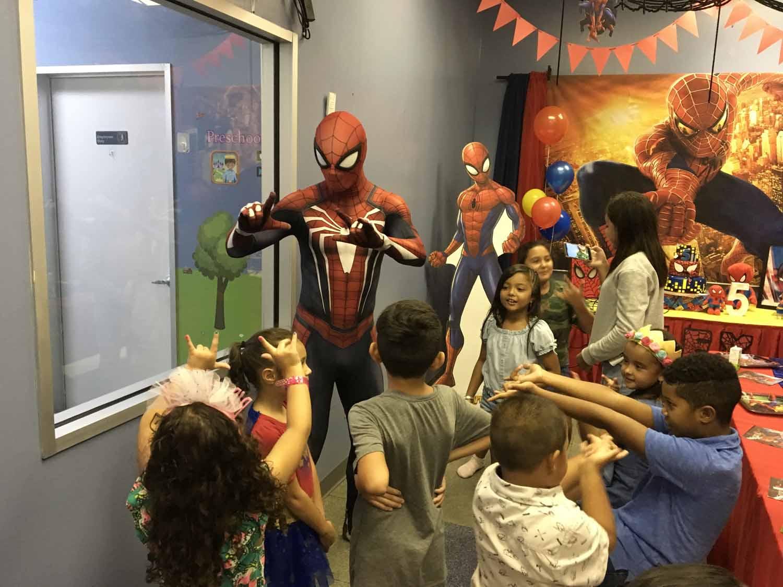 spider man themed birthday party for 5 year old boy orlando florida (23).jpg