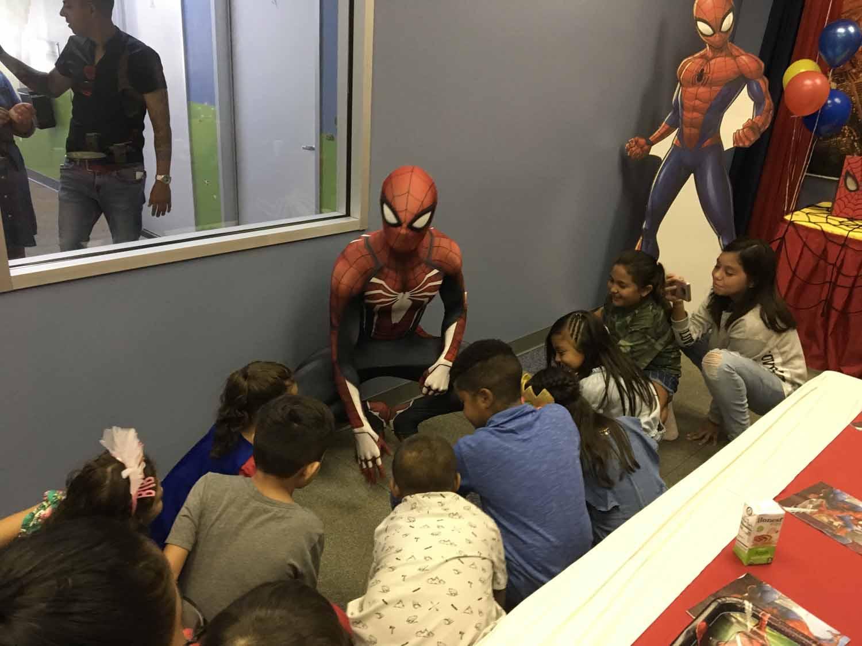 spider man themed birthday party for 5 year old boy orlando florida (24).jpg