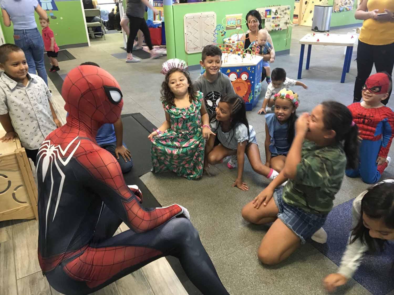 spider man themed birthday party for 5 year old boy orlando florida (26).jpg