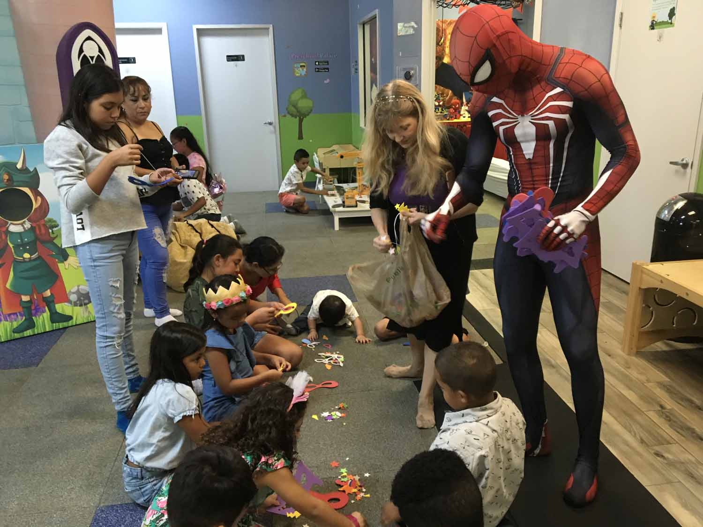 spider man themed birthday party for 5 year old boy orlando florida (27).jpg