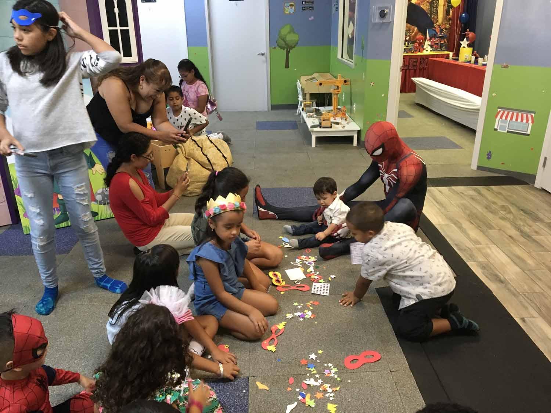 spider man themed birthday party for 5 year old boy orlando florida (28).jpg