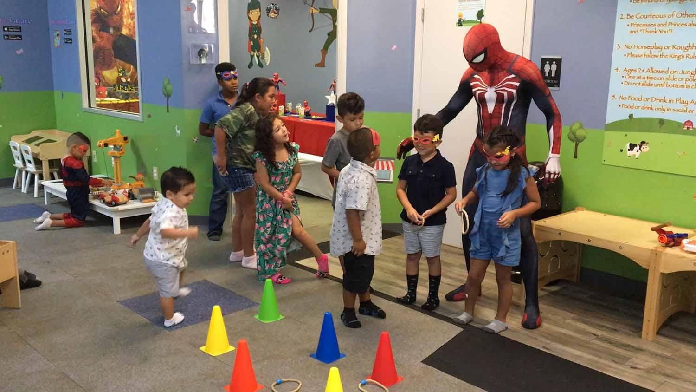 spider man themed birthday party for 5 year old boy orlando florida (31).jpg