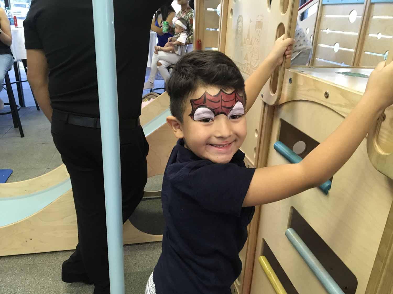 spider man themed birthday party for 5 year old boy orlando florida (34).jpg
