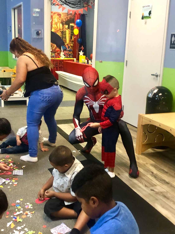 spider man themed birthday party for 5 year old boy orlando florida (38).jpg